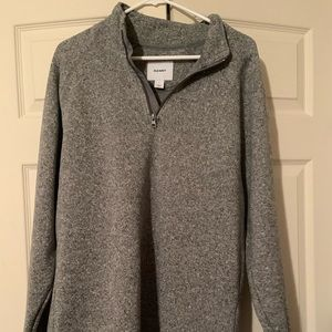 OLD NAVY QUARTER ZIP